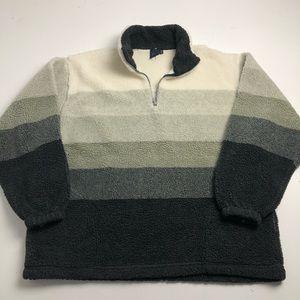 Vintage Club House Fleece Quarter Zip Sweater